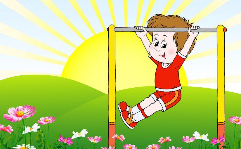 Картинки с зарядкой по утрам для детей, марта