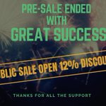 Image for the Tweet beginning: PRE-ICO SALE ENDED WITH HUGE