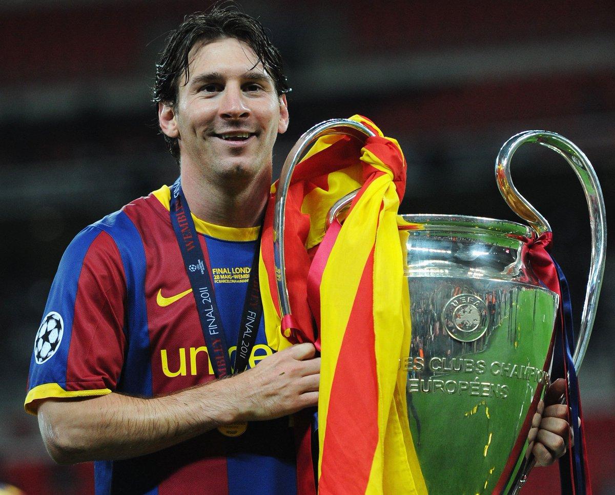 ⭐️ 𝗟 𝗜 𝗢 𝗡 𝗘 𝗟   𝗠 𝗘 𝗦 𝗦 𝗜 ⭐️  👕 1⃣3⃣5⃣ ⚽️ 1⃣1⃣2⃣ 🏆 2⃣0⃣0⃣6⃣, 2⃣0⃣0⃣9⃣, 2⃣0⃣1⃣1⃣, 2⃣0⃣1⃣5⃣  🇦🇷 Happy 32nd birthday, Messi! 🥳  #UCL