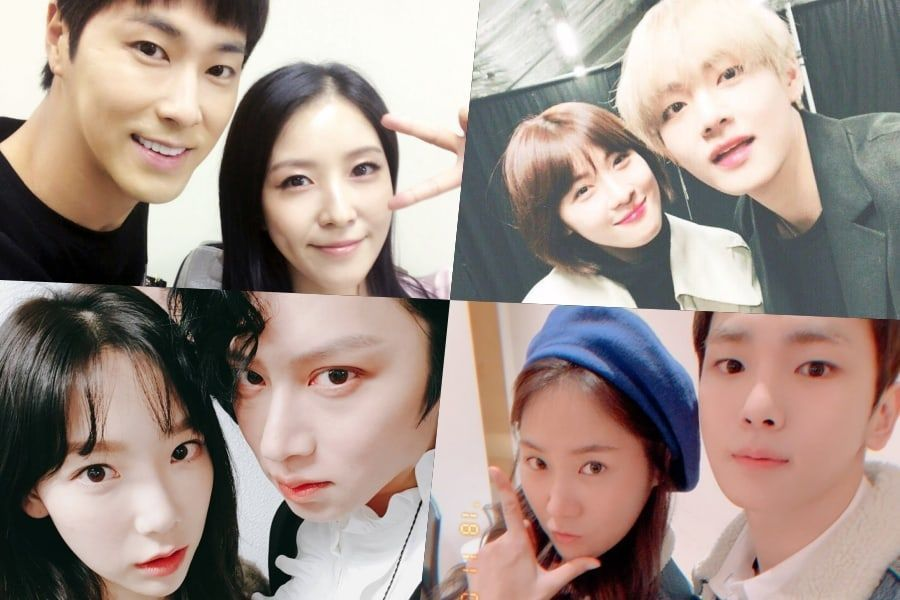 Cute Guy-Girl Friendships In The Korean Entertainment Industry https://t.co/U87huvsyAc https://t.co/cDhB8EfkWu