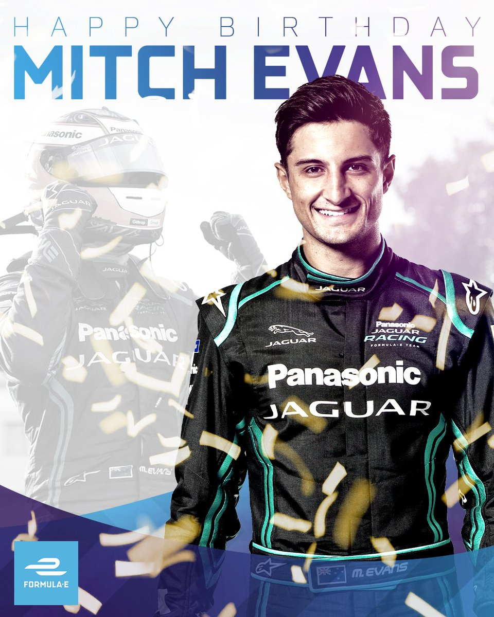 RT @FIAFormulaE: Happy birthday @mitchevans_! 🎂🎁 #ABBFormulaE https://t.co/w8tf1Uq1Xi