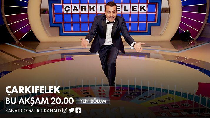 Ekranların en çok kazandıran yarışması #Çarkıfelek yeni bölümüyle bu akşam seninle! @emrekarayel01