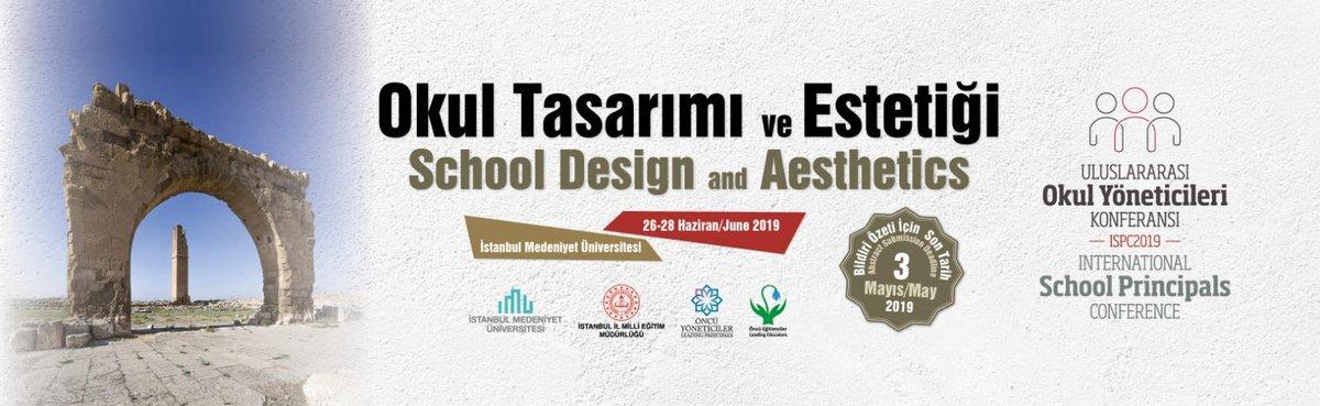 Uluslararası Okul Yöneticileri Konferansı disiplinlerarası hakemli bir konferanstır. @tcmeb @ziyaselcuk @memleventyazici