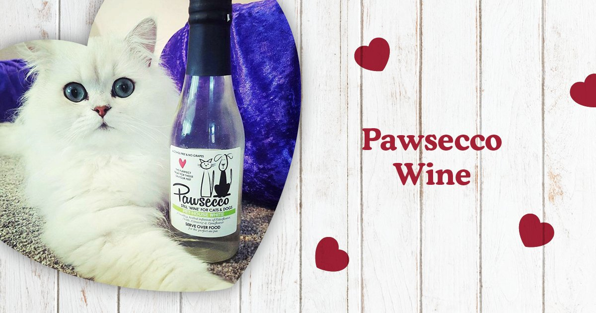 Your fur-ever friend can toast your big day too with Pawsecco - a healthy, herbal infusion of elderflower, nettle, ginseng and limeflower! 🥂     Alcohol-free ✔️  Non-carbonated ✔️  Rich in vitamins and minerals ✔️