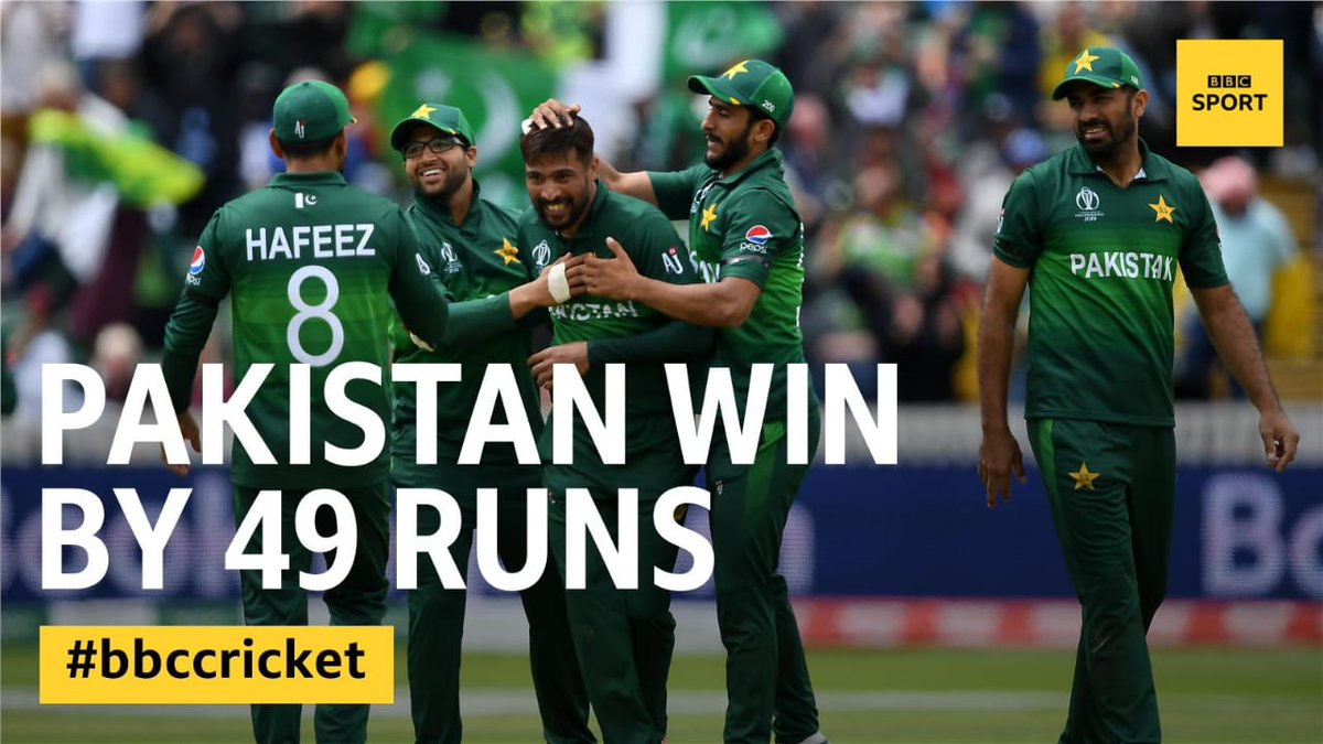 #Pakistan cricket team hopes to go to semifinal So no one will criticize #Pakistan's national team. #Pakistan team can beat anyone in their day.