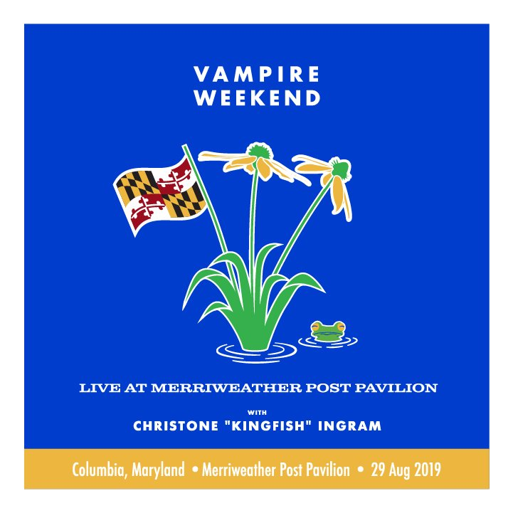 Live at Merriweather Post Pavilion. Tickets on sale Friday, June 28 at 10am local.