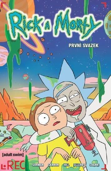 Rick a Morty nově v komiksu! Dvojici, kterou tvoří uťápnutý vnouček Morty a geniální zločinný alkoholický dědeček Rick, už je malá galaxie, časoprostorové kontinuum a dokonce i televizní obrazovka: https://t.co/nJwqOUN0LO #comics #RickAndMorty #PickleRick https://t.co/dt4ykiSyzb