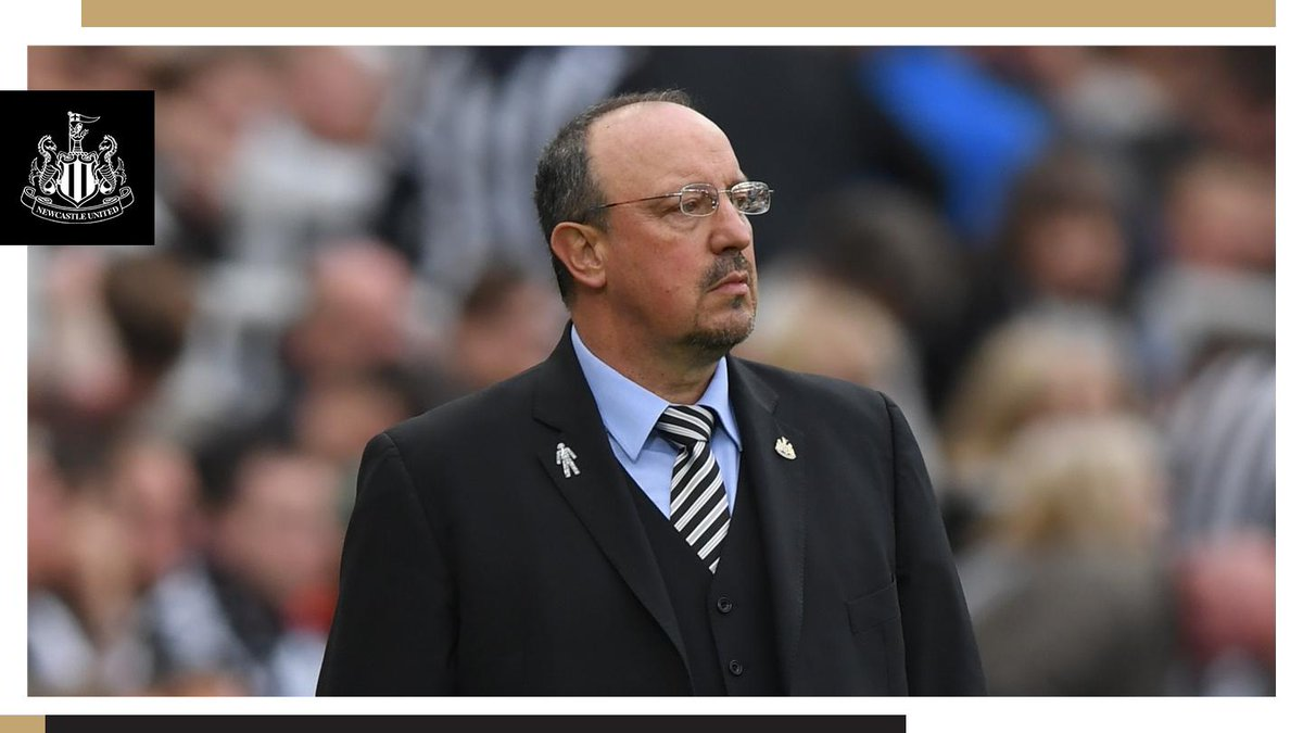 It is with disappointment that we announce manager Rafael Benítez will leave Newcastle United upon the expiry of his contract on 30th June 2019.  Full club statement: https://www.nufc.co.uk/news/latest-news/club-statement-rafa-ben%C3%ADtez … #NUFC