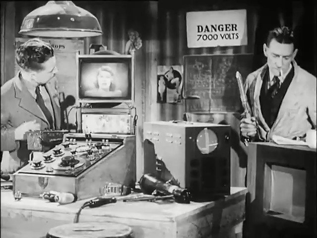 #OnThisDay 1946: The BBC released this pictorial potpourri of TV production, to be used as a test film for engineers installing new television receivers.   If you are not a certified television engineer, look away now.