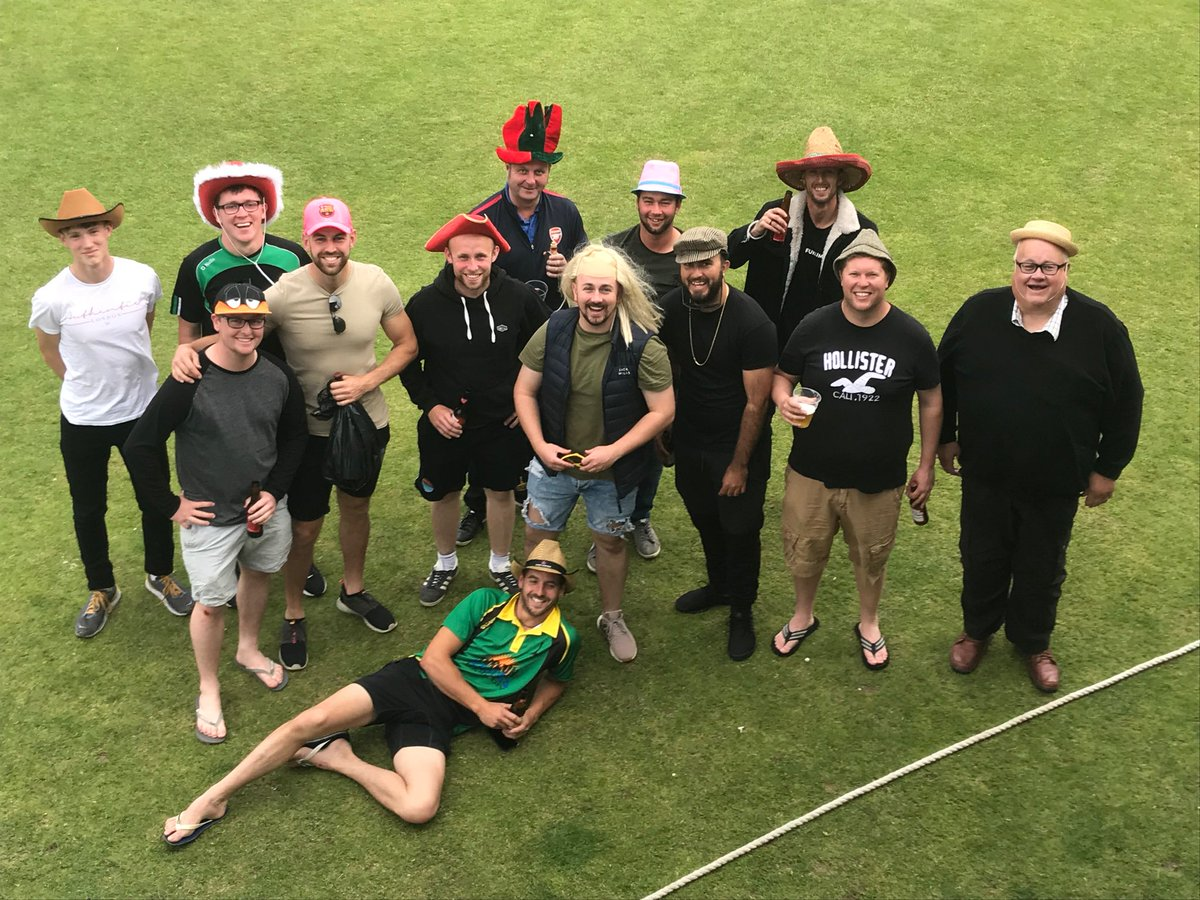 """""""Hats Off,"""" (literally) to the guys from Callington who visited St Clare with some regulars missing and put their hearts into a match where they had to run around a bit! 🤦♂️ A credit to their club and to the game."""