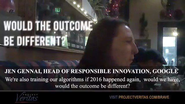 RT @Project_Veritas: Google executive on undercover camera says Congress 'can pressure us but we're not changing.' https://t.co/5HJshgZvLJ