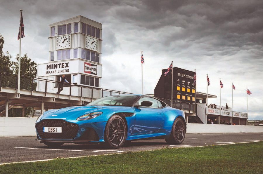 This lunchtime, join us for a lap of one of Britain's favourite racing circuits in one of the finest grand tourers around. @Andrew_Frankel hits @GoodwoodRRC in the sublime @astonmartin DBS Superleggera: https://buff.ly/2J1JsEk