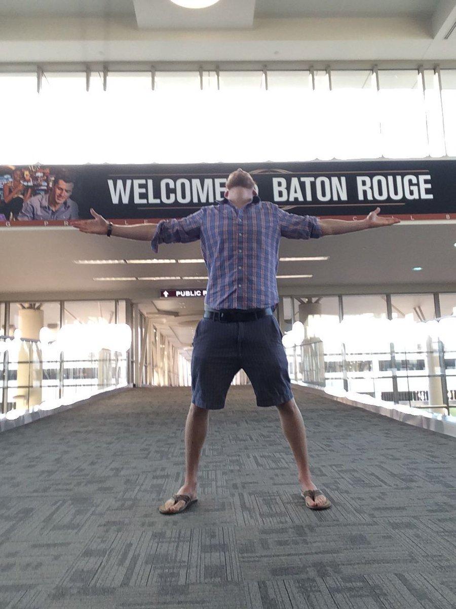 . @ChrisStrub in Baton Rouge #everywherechris
