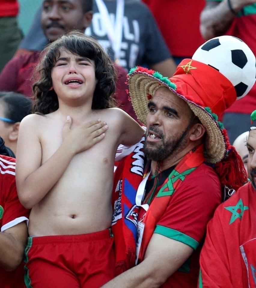 Merci au public marocain pour son soutien lors de cette victoire importante contre la Namibie 🇲🇦 vs 🇳🇦 Thanks to the Moroccan public for his support during this important victory against Namibia #AFCON2019 #egypt #CAN2019