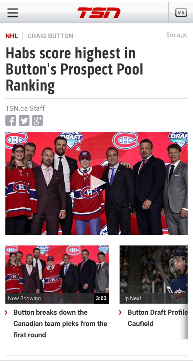RT @Rontzeeez: Hey @CraigJButton , Can you say it louder for those who didn't hear? #2019NHLDraft https://t.co/Bj0wcTIbkP