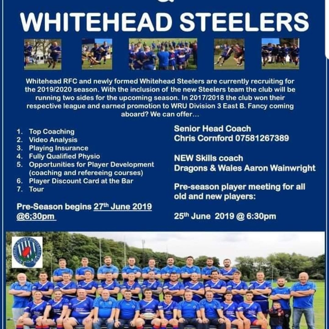 @Edds_Official Pre-season meeting is tomorrow night 6.30pm. Details attached on the photo, any questions please get in touch. All Welcome, PLEASE SHARE 👍🔵. #UTE #ALLABOARD #EDDSFAMILY #PRESEASON @EngineEddy @Christo11590925