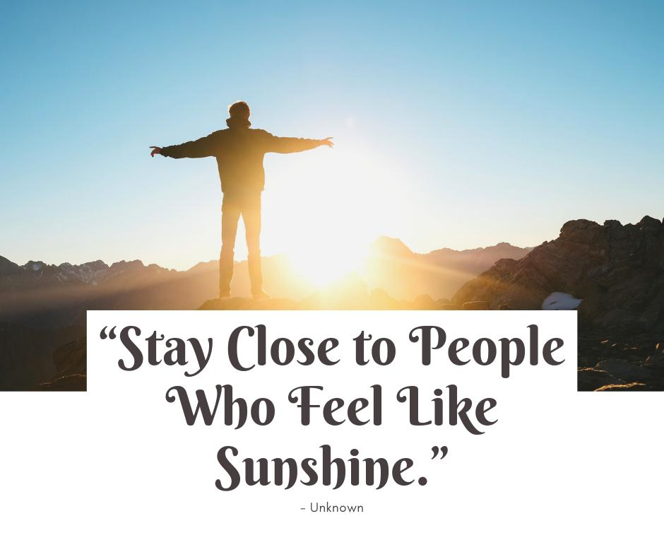 Who do you know that feels like sunshine?   #MondayMotivation <br>http://pic.twitter.com/fvUS9kw1JJ