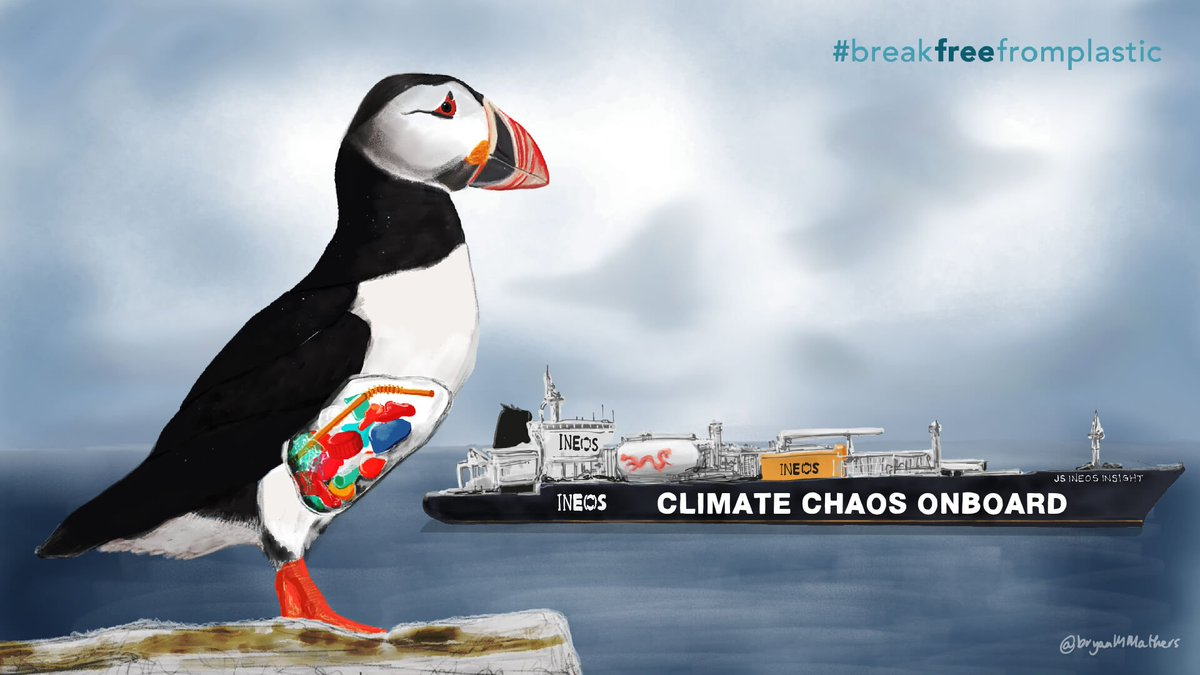 """Tonight BBC One 9pm GMT, final episode of the series """"War on Plastic.This episode includes a focus on INEOS' role in producing plastic #pollution."""