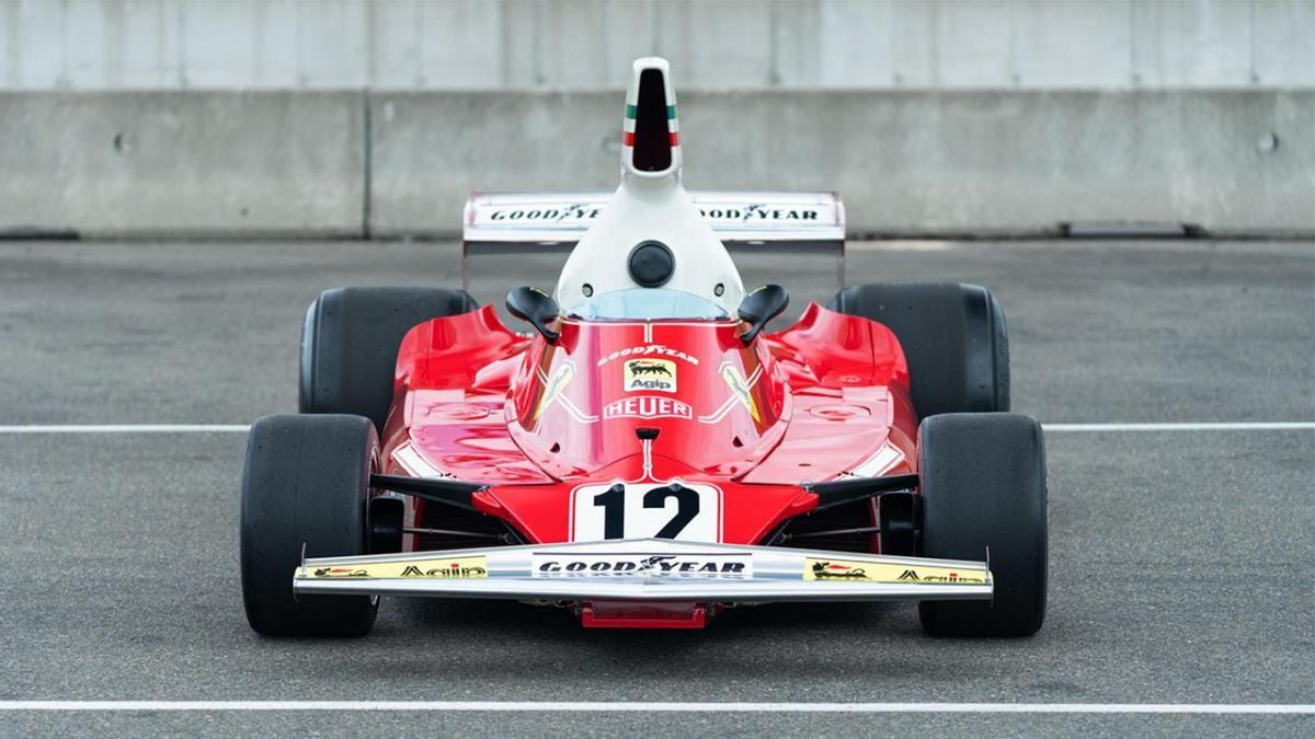El Ferrari de F1 de Niki Lauda será subastado, y aunque costará una pasta, merece la pena. ¡Vaya si la merece! 😁 buff.ly/2X3qd77