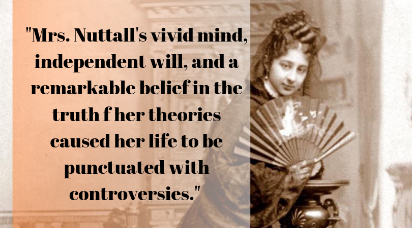 Need a nice quote for the day? Let's talk about Zella Nuttall and confidence!   #womeninarchaeology #womeninscience #scicomm #Archaeology   https://womeninarchaeology.com/2019/06/24/the-tenacity-of-zella-nuttall/…