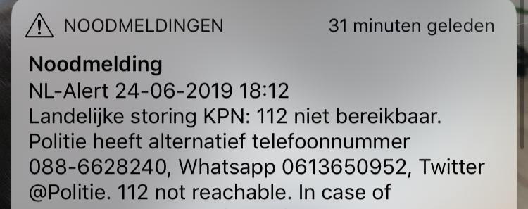Brandweer Bellen Geen Spoed.Per Abuis Nummer Van Telegraaf Verspreid Als Noodnummer Nu