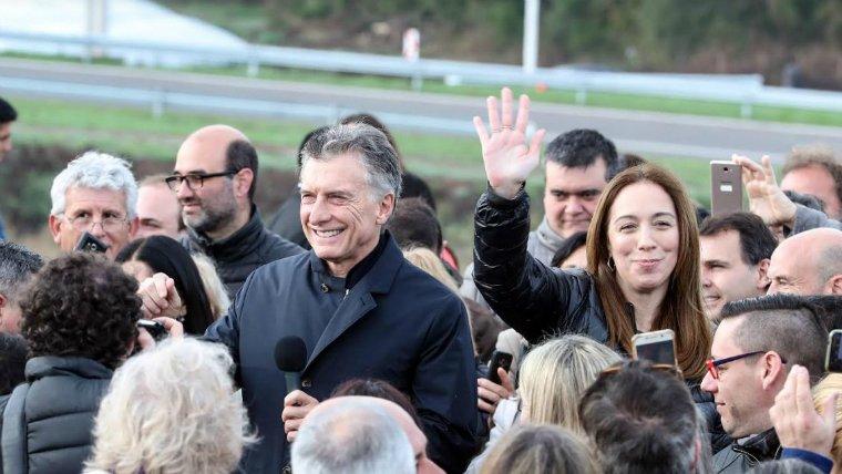 """Macri, tras inaugurar una obra: """"Esto es real, no sarasa"""""""