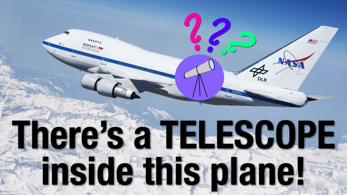 New video from my #NASASocial trip to see @SOFIAtelescope! How is there a telescope INSIDE this airplane?! youtu.be/gVi10drtPMc