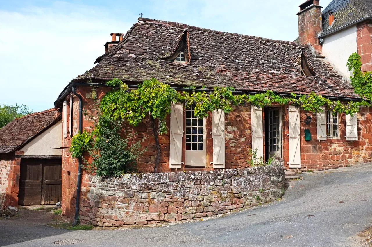Сельские дома во франции фото