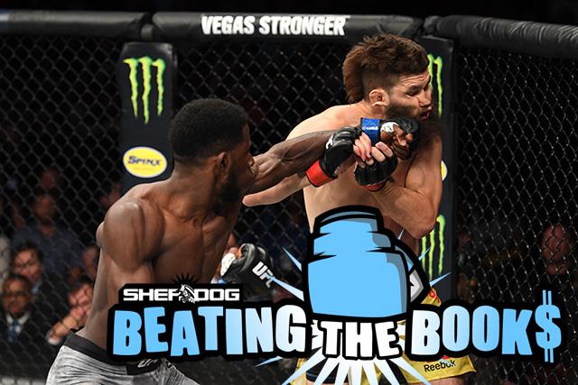 Beating the Books: #UFCGreenville http://bit.ly/2YdLEPu via @MMAdamMartin