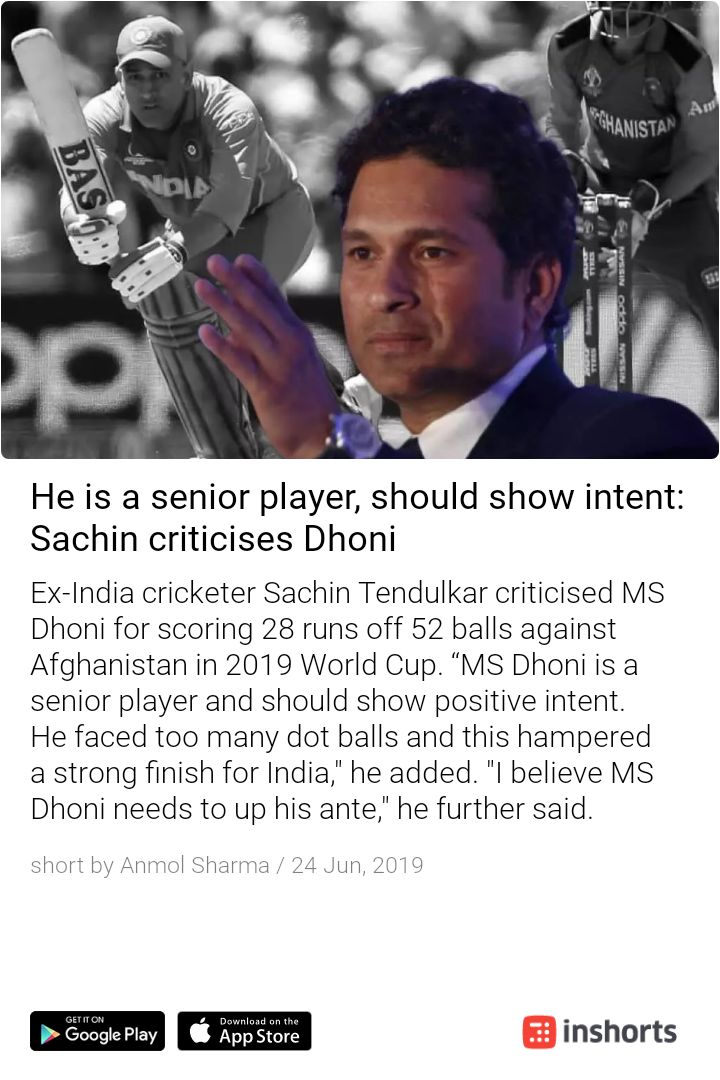 The same man that won you the World Cup which you couldn't win in your whole career with one of the best Indian players around. Sachin acting like he was some big hitter, man used to struggle in his 90s. Someone should pull up his strike rate when he's been in the 90s #Dhoni<br>http://pic.twitter.com/hCVQ5aBI9h