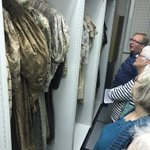 Image for the Tweet beginning: Behind the scenes at @HantsCulture