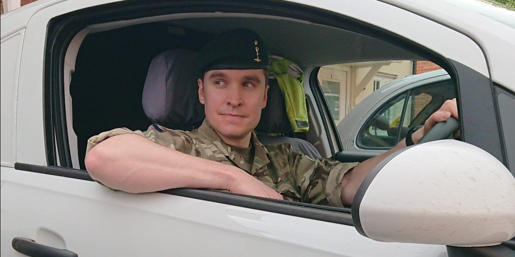 "Meet Aaron, #Reservist with Royal Signals @R_Signals & @ringwayjacobs Site Agent. ""I've deployed to Gibraltar to train with the Regular Army which was a fantastic experience & next I'll be deployed to Cyprus for more training."" #ArmedForcesDay ow.ly/aXk650uLeAZ"