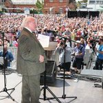 Image for the Tweet beginning: The official opening of Fleadh