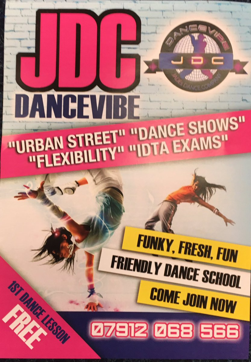 We've had a great day with Jade from JDC DanceVibe. If you are interested in dance classes please see attached leaflet for information. #dance #PEpic.twitter.com/U8edhm28zD