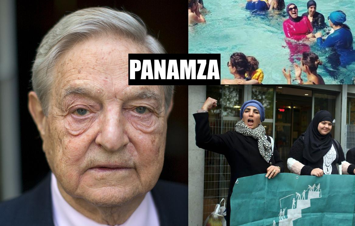 Burkini et Soros : le plagiat national-sioniste de Panamza