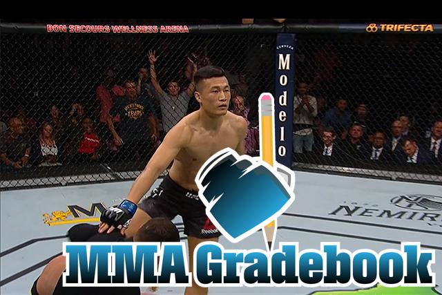 MMA Gradebook: Rating every fight from #UFCGreenville http://po.st/EvWpd8 via @KevinWilsonMMA