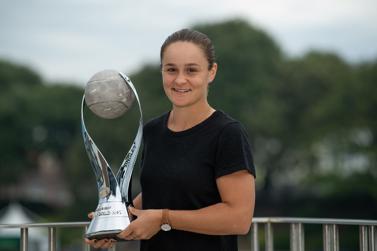 The new world No.1... just in time for #Wimbledon   @ashbar96 <br>http://pic.twitter.com/ZFPYCmxJUB