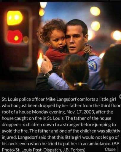 Here, @stltoday , instead of showing a man bleeding to death, I found something a bit better to convey his heroism. Better yet, YOU WROTE IT. #BackTheBlue  #LODD #LivePD <br>http://pic.twitter.com/5sg79EXnon