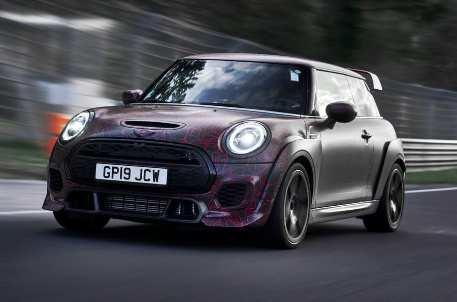 Prototypes of the fastest production @MINI ever built took to the #Nurburgring at the latest round of the @FIAWEC. Say hello to the 300bhp+ John Cooper Works GP: https://buff.ly/2LlgBhh