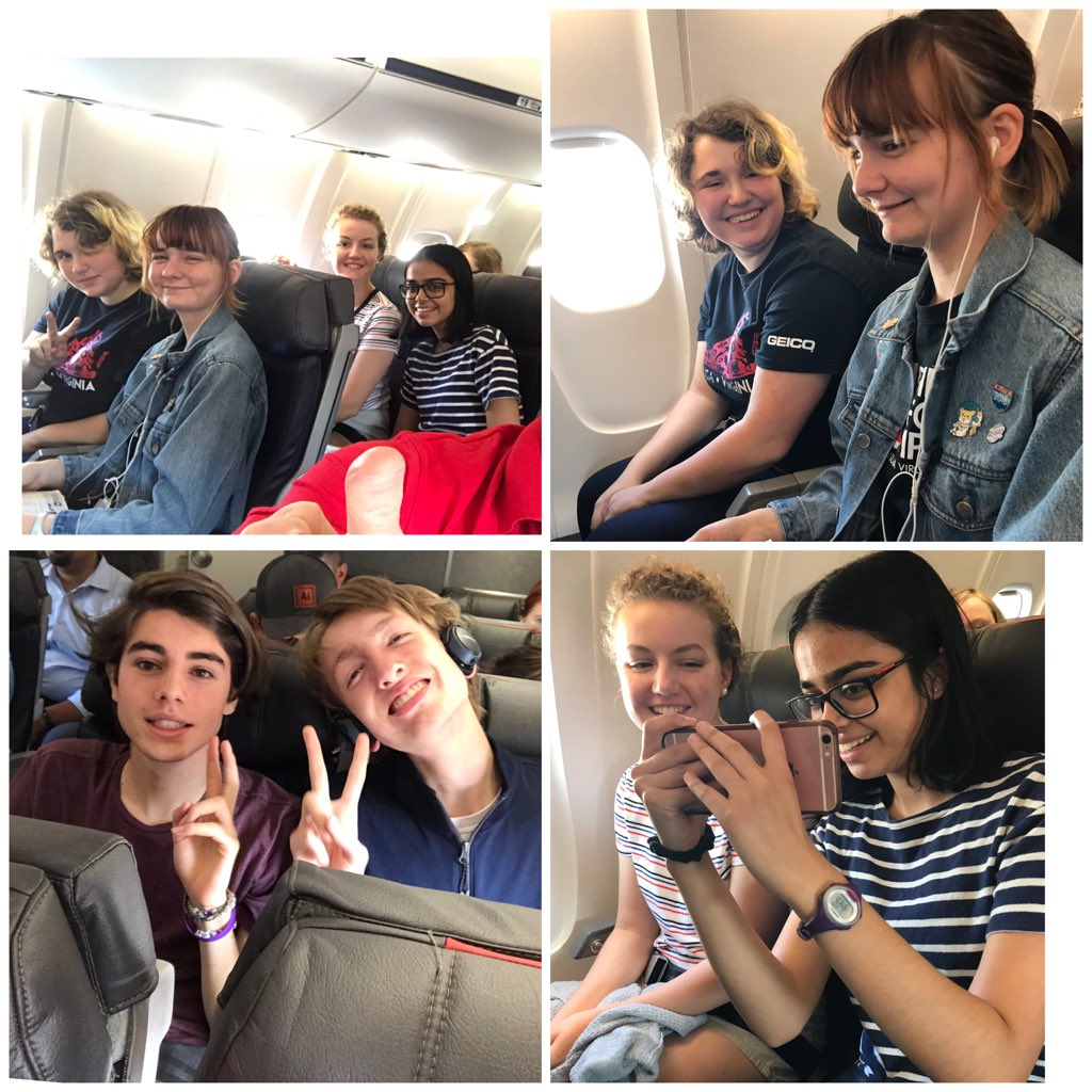 ACC TV students are flying to Louisville for the SkillsUSA national championships. This is Campbell's first flight as well. We got this!<a target='_blank' href='http://twitter.com/CharlesRandolp3'>@CharlesRandolp3</a> <a target='_blank' href='http://twitter.com/arlingtontechcc'>@arlingtontechcc</a> <a target='_blank' href='https://t.co/6nBsn2QAlK'>https://t.co/6nBsn2QAlK</a>
