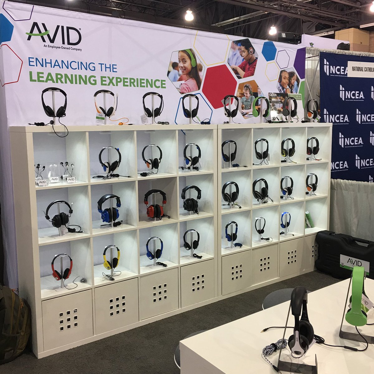 Day one @iste has commenced. Join us at booth 717 to see our latest #edtech solutions!  #avidheadphones #avideducation #iste2019 #iste19