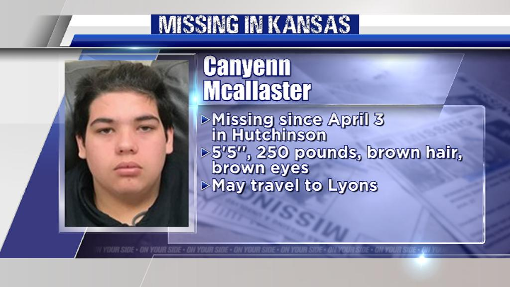 Please, RT.  Kansas teen Canyenn Mcallaster was reported missing nearly 3 months ago. Let's help find him safe.  http://bit.ly/2ZH0e2i  #MissingInKS #KAKENews #MissingPerson #Missing