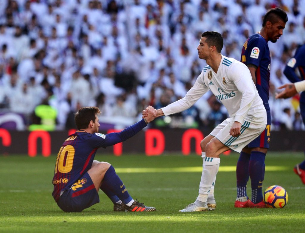 Lionel Messi turns 32 today Cristiano Ronaldo is 34 The end is approaching. 😢