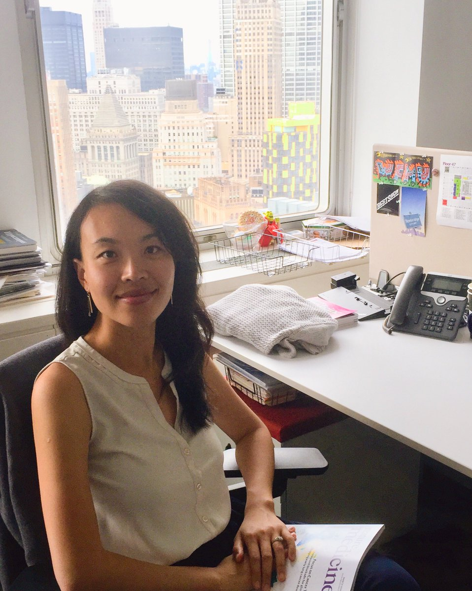 Hello everyone, it is another #NMedtwittertakeover! I am Kate Gao, senior editor at Nature Medicine. I am based in the New York office.