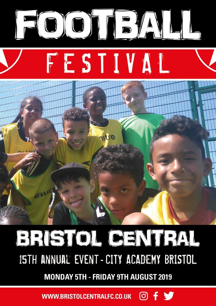 Bristol Central Football Festival Mon 5th - Fri 9th August https://t.co/sFjd8qES6L