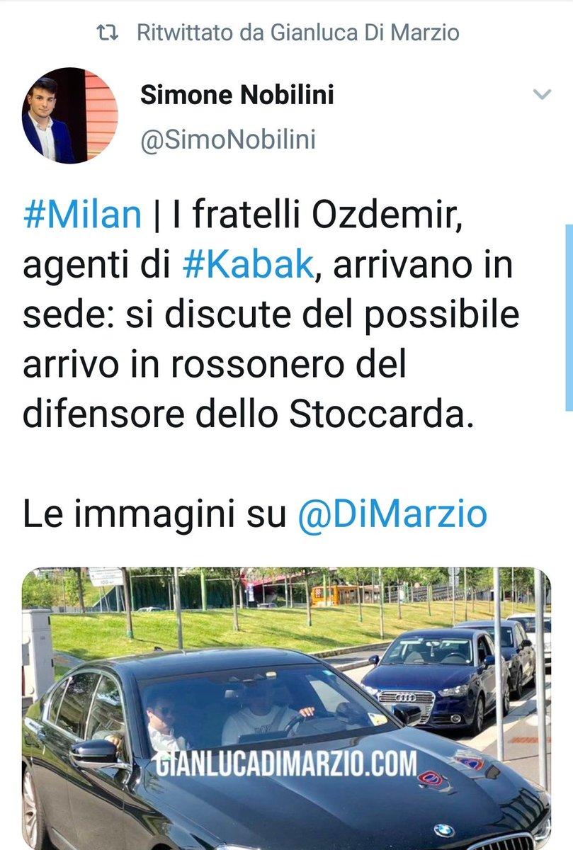 Le immagini da Casa #Milan. #Kabak #calciomercato