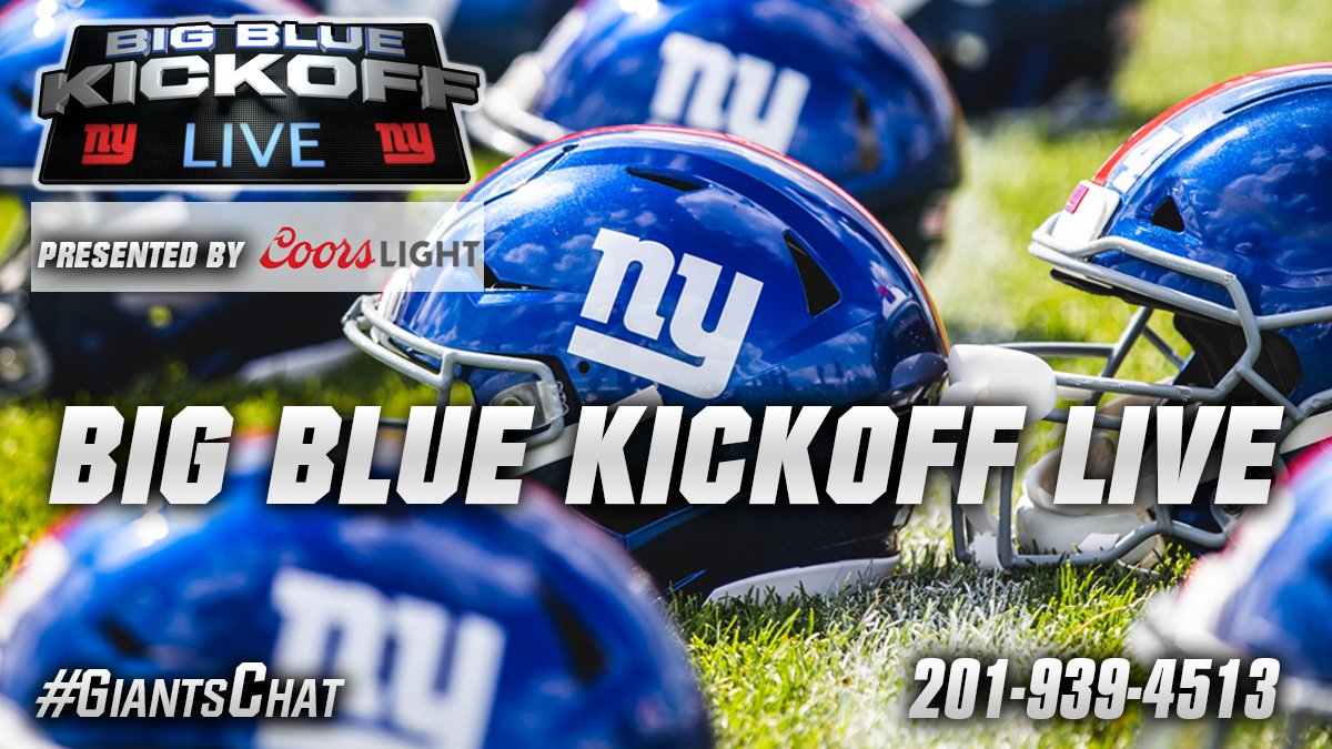 Hosting BBKL (presented by @CoorsLight) w/@giantswfan 12PM ET on @Giants.com..we'll begin to preview the #NYG 2019 opponents as @ArmandoSalguero joins us to discuss the #Dolphins + your calls #giantschat http://giants.com/bigbluekickoff