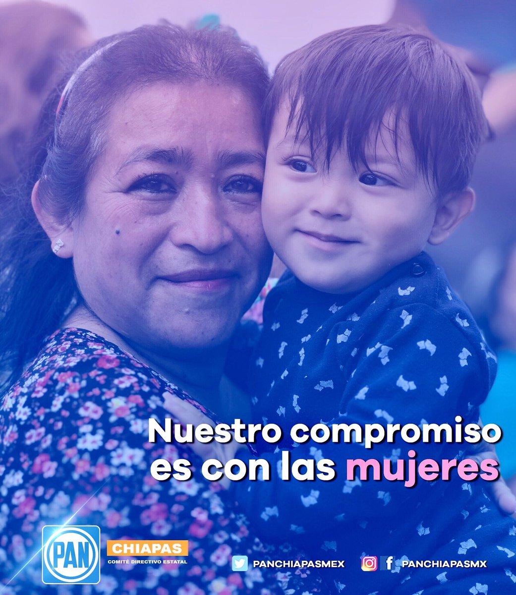 🔵 En el PAN Chiapas siempre trabajaremos por el bienestar de las mujeres y sus familias.