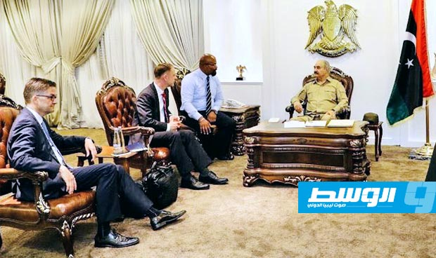 German official asks Haftar: How can we end fighting in Tripoli and return to a peaceful political process in #Libya?   Full Story: http://alwasat.ly/news/libya/249021…