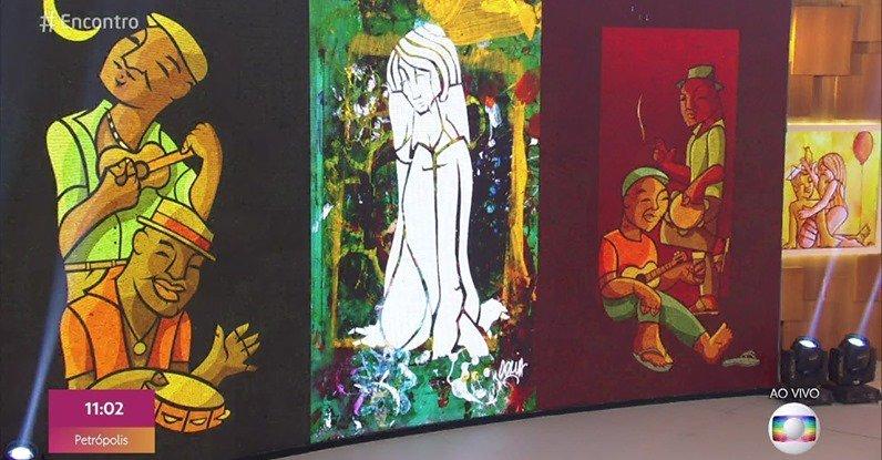 Estamos muito felizes em ver a arte do Rafael Doria no @EncontroFatima. Ele foi personagem do ep. 3 do Projeto Entrelace.  Reveja: https://youtu.be/lytWlY8qD14  #musicaautoral #artevisual #audiovisual #novosartistas #produçãoindependente #musicanova #musicainedita #Encontropic.twitter.com/AZMA4lKZF7